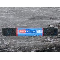 Tex Style black waxed speed skate laces